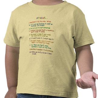 De Regels van de peuter T Shirts