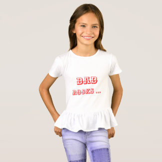 De regels van het de rotsenmamma van de papa - de t shirt