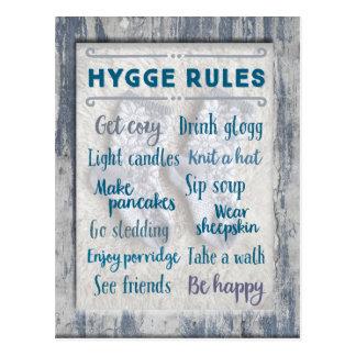 De Regels van Hygge Briefkaart
