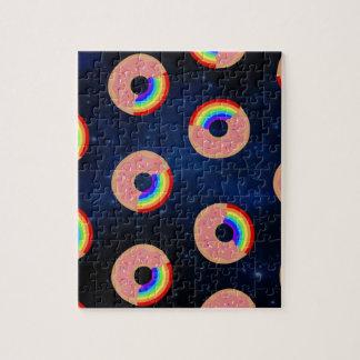 De Regenbogen van de Doughnut van de melkweg Legpuzzel