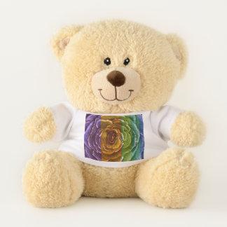 De regenboog nam Teddybeer toe