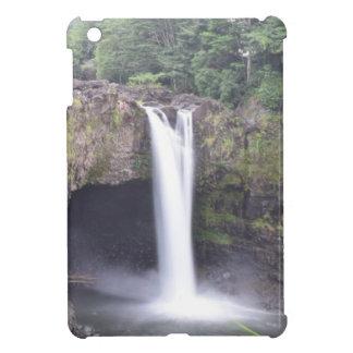 De regenboog valt Hawaï Hoesje Voor iPad Mini