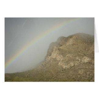 De Regenboog van de Rand van Pusch Kaart