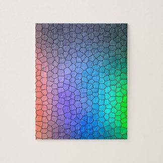 De Regenboog van het mozaïek Legpuzzel