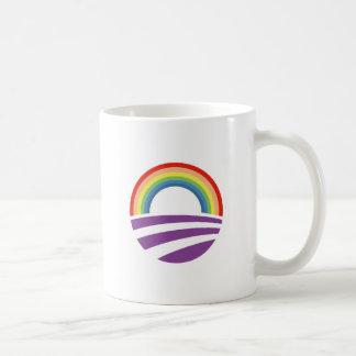 De Regenboog van Obama Koffiemok