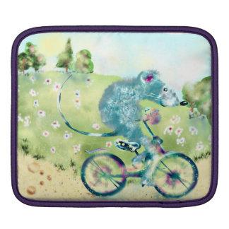 De reis van de fiets beschermhoezen voor iPad