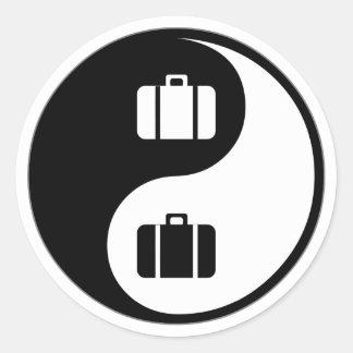 De Reis van Yang van Yin Ronde Sticker