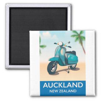 De reisposter van Auckland Nieuw Zeeland Magneet