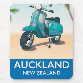 De reisposter van Auckland Nieuw Zeeland Muismatten