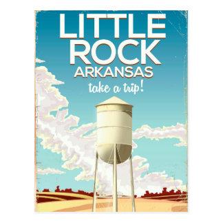 De reisposter van Little Rock Arkansas Briefkaart