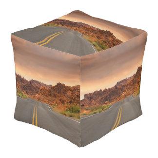 De reiszonsondergang van de weg vierkant zitkussen