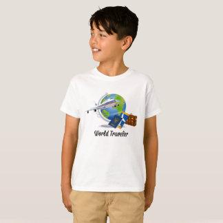 De Reiziger van de wereld, Ingepakt en Klaar te T Shirt