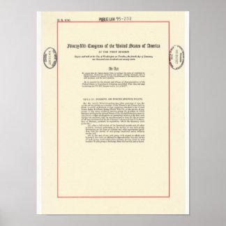 De Rekening van de Veteraan van de WESP - p. 1 Poster