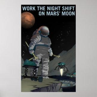 De Rekrutering van Mars - Het Poster van de