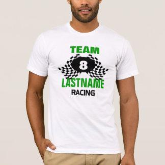 De Rennende Familie van het team T Shirt