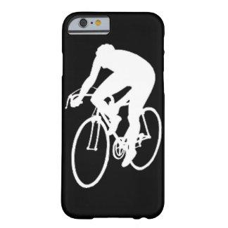 """""""De rennende fietser van de weg """" Barely There iPhone 6 Hoesje"""
