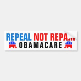 De Reparatie Obamacare van de herroeping niet Bumpersticker