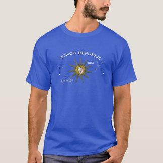 De Republiek Key West van de kroonslak T Shirt