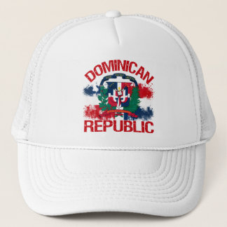 De Republiek van Domonican Trucker Pet
