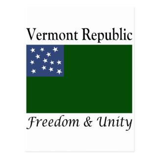 De Republiek van Vermont Briefkaart