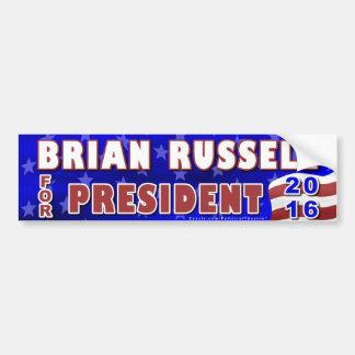 De Republikein van de Verkiezing van Brian Russell Bumpersticker