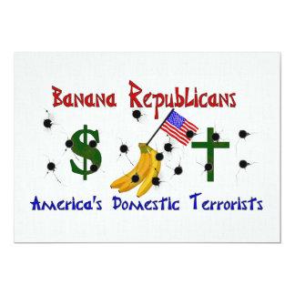 De Republikeinen van de banaan Kaart