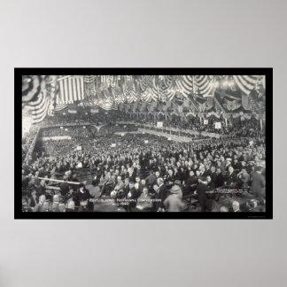 De Republikeinse Foto 1920 van Chicago, IL Poster