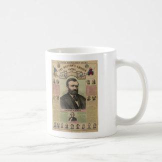 De republikeinse Grafiek Ulysses S. Grant door Koffiemok