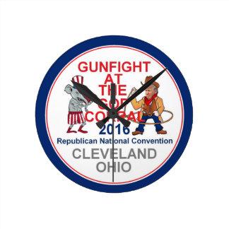 De republikeinse Overeenkomst van 2016 Ronde Klok Medium