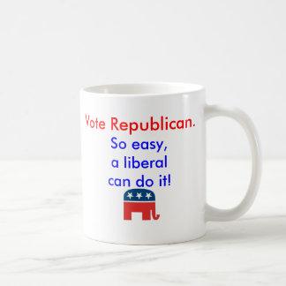 De Republikeinse Overmaatse Mok van de stem