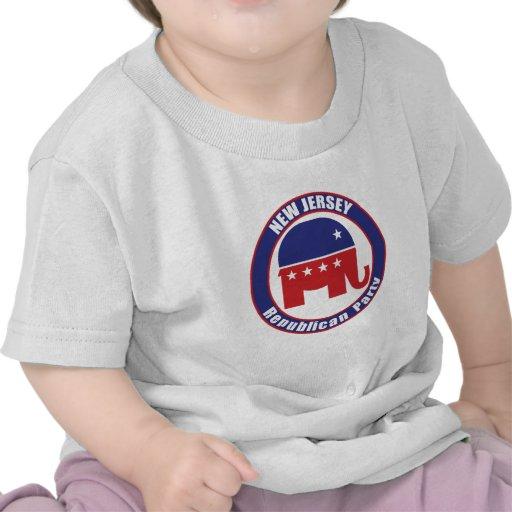 De Republikeinse Partij van New Jersey Tshirt