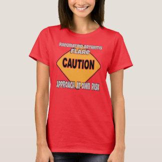 De reumatoïde T-shirt van de Voorzichtigheid van
