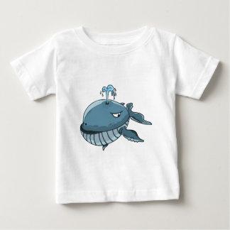 De reus die van het de blauwe vinviszee van de baby t shirts