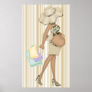 (De Reusachtige) Boutique van het moederschap Poster