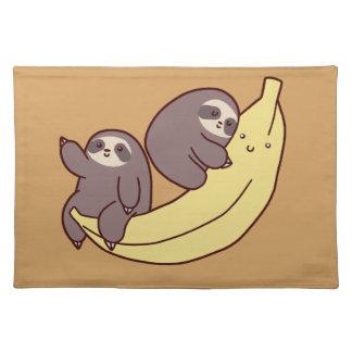 De reuze Luiaarden van de Banaan Placemat