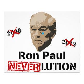 De Revolutie Neverlution van Ron Paul 2012 Folders