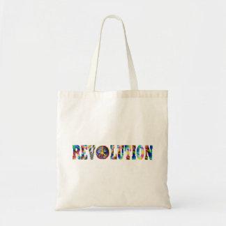 De Revolutie van de hippie Budget Draagtas