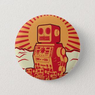 De Revolutie van de robot Ronde Button 5,7 Cm