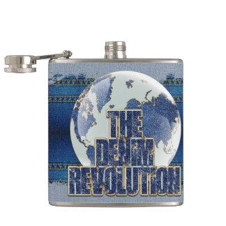 De revolutie van het Denim Heupfles