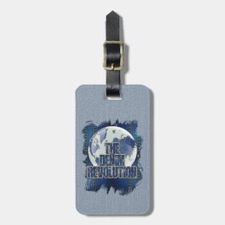 De revolutie van het Denim Kofferlabels