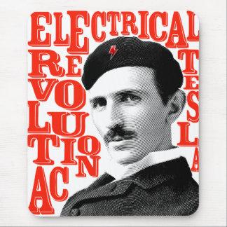 De revolutie van Nikola Tesla Muismatten