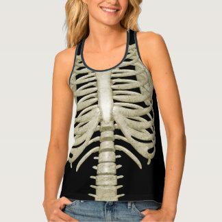 De Ribben van het Skelet van het Kostuum van de Tanktop