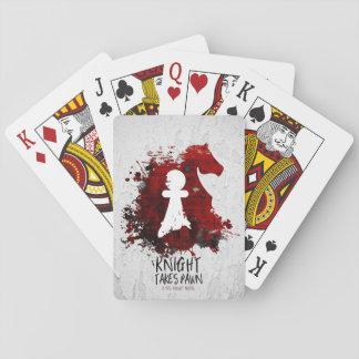 De ridder neemt Pand door Martha Sweeney Speelkaarten