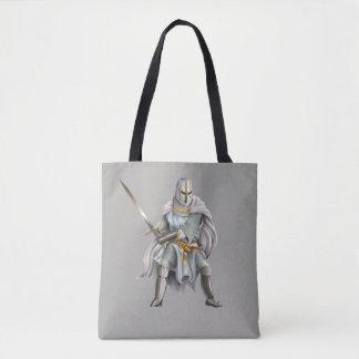 De Ridder van de kruisvaarder helemaal over - het Draagtas