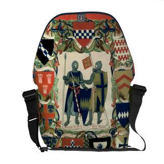 De Ridders van de kruisvaarder Messenger Bag