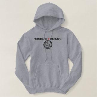De ridders van Templar verzegelen - Geborduurde Sweater Hoodie