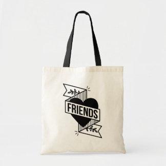 De riemen van FRIENDS_blk Draagtas
