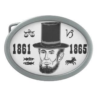 De riemgesp van Abraham Lincoln Gespen