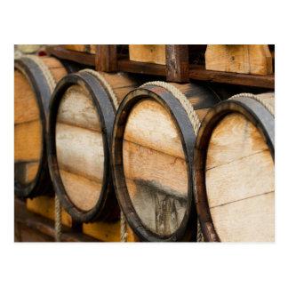 De Rij van het wijnvat Briefkaart