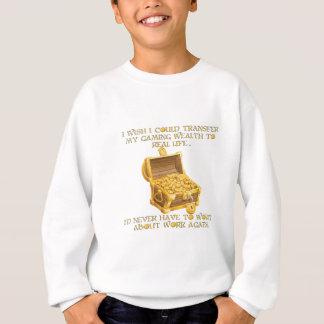 De rijkdom van het gokken trui